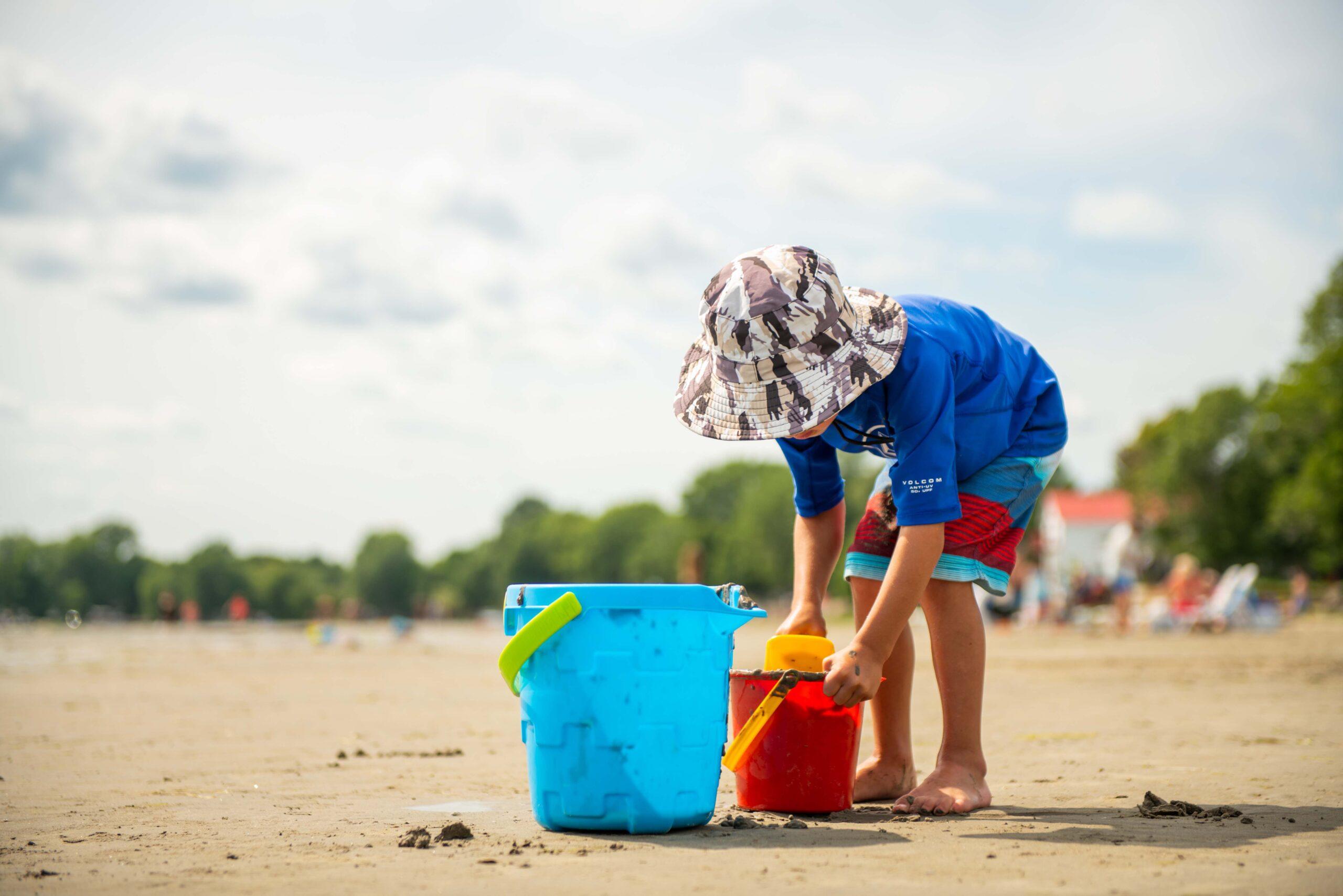 Des plages à Venise-en-Québec